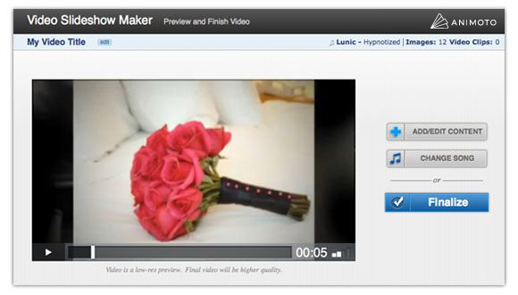 Preview your video.